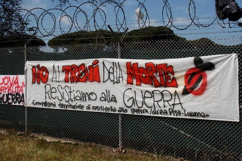 Verso la manifestazione del 2 giugno a Camp Darby: quello che governo nazionale e locale non dicono