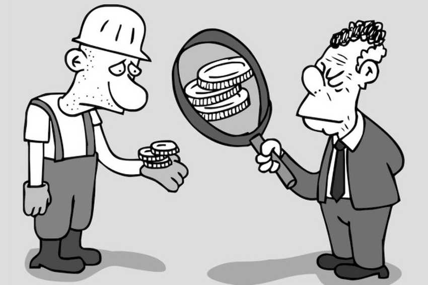 Salario minimo: dove sta l'inganno?