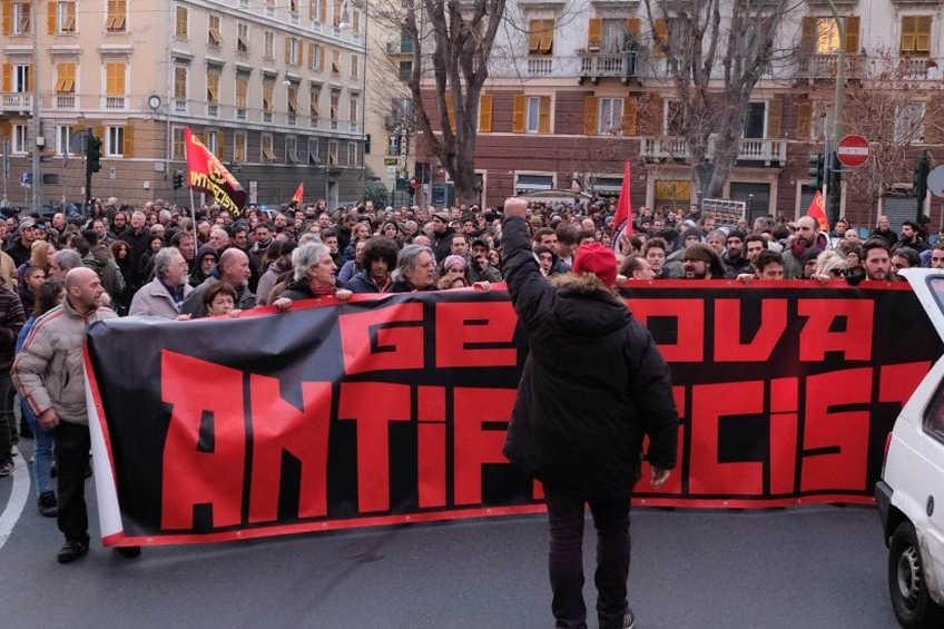 Comunicato di Genova antifascista in merito al corteo di sabato 30 giugno 2018