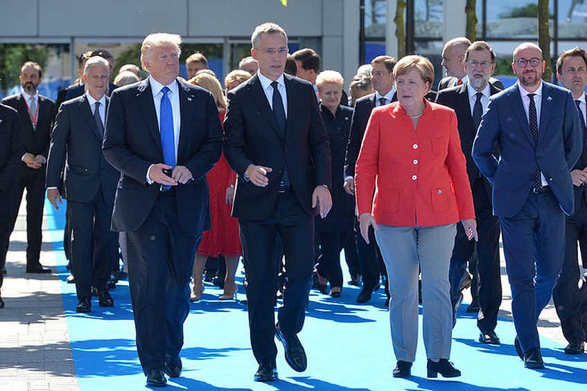 Vertice nato: il gas fa esplodere le contraddizioni USA-Europa