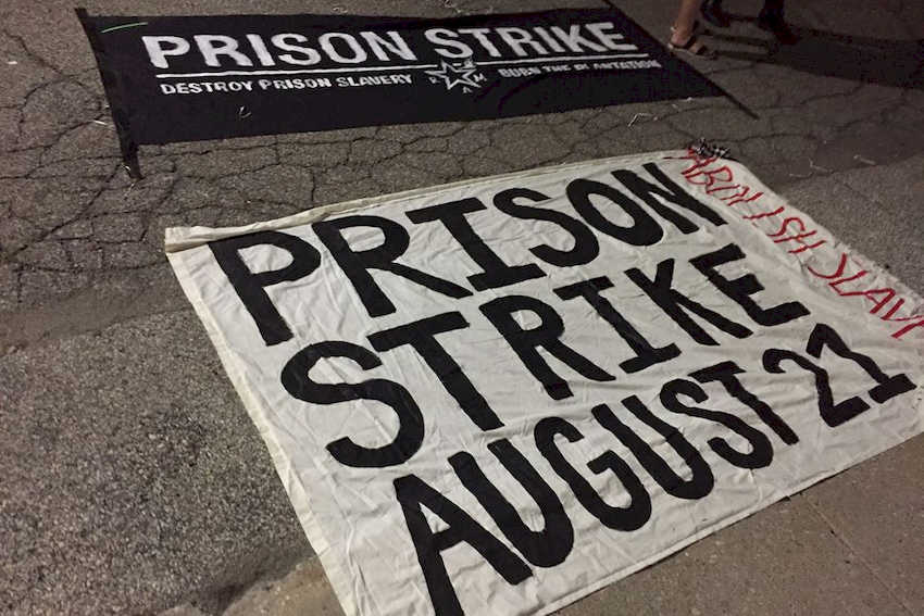 Corrispondenze dallo sciopero in corso nelle carceri USA