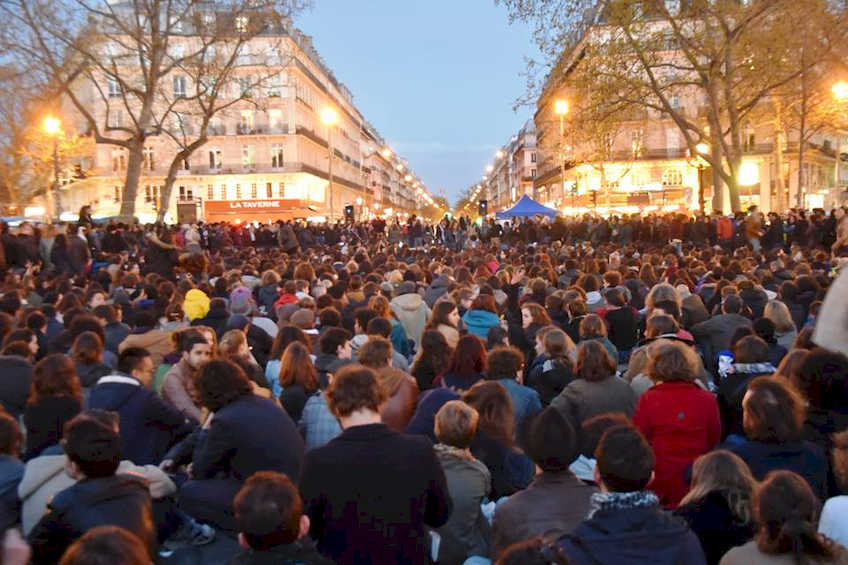 Solidarietà con lo sciopero generale in Francia del 28 aprile!  Appello