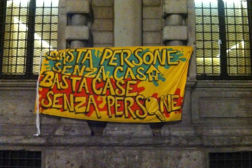 Repressione e lotta per la casa - Roma